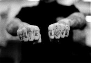 Communicatie en relatieproblemen haat en liefde-min