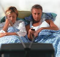TV en relatieprobleem
