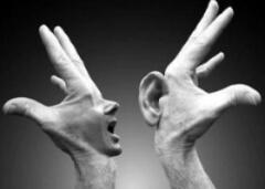 relatie en communicatie luisteren en horen